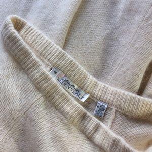 Ellen Tracy Skirts - Vintage Lambswool Angora Rabbit Cream Maxi Skirt